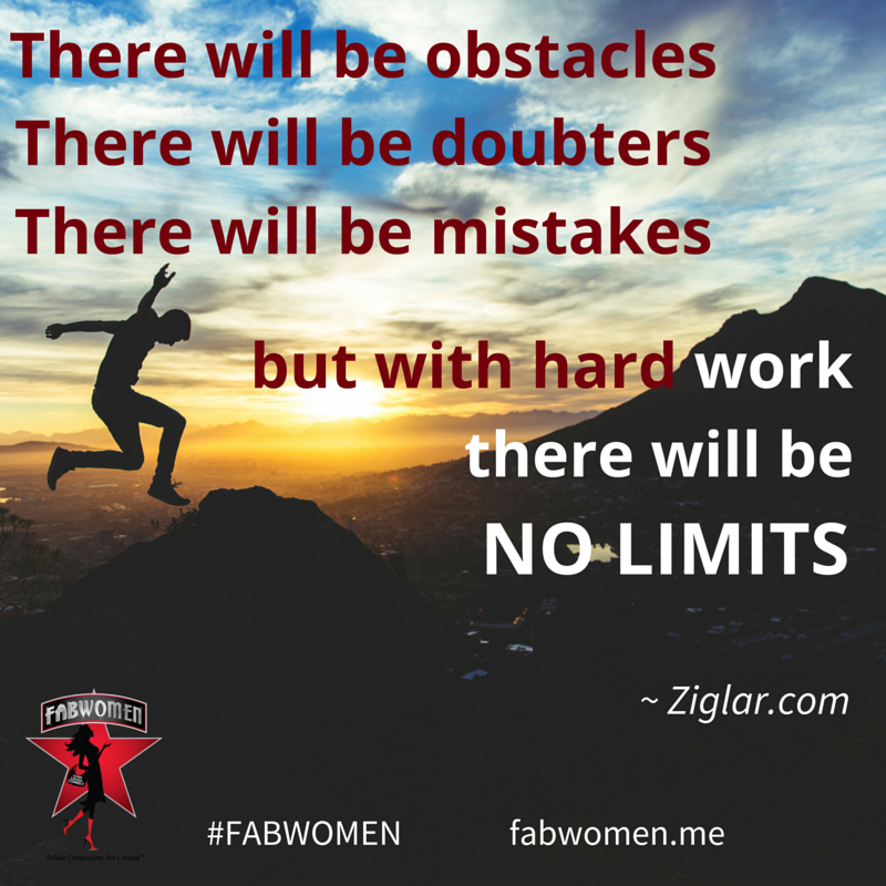 FABWOMEN Quote obstacles