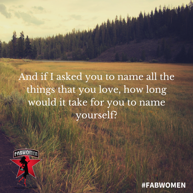 FABWOMEN name what you love