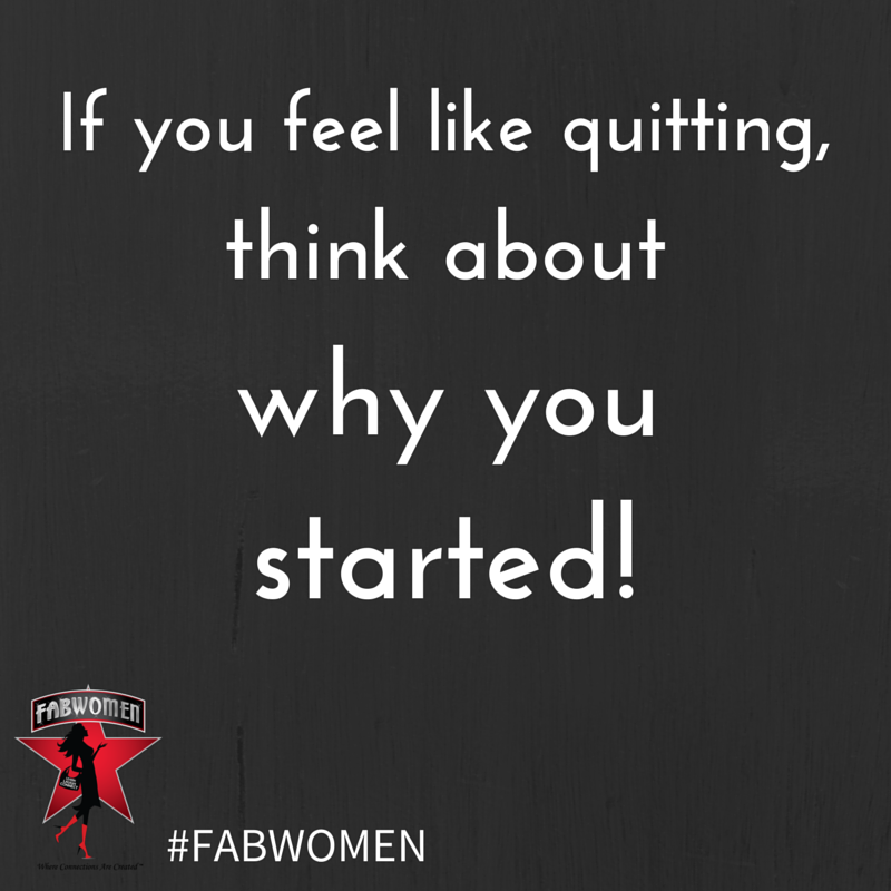 FABWOMEN quit started